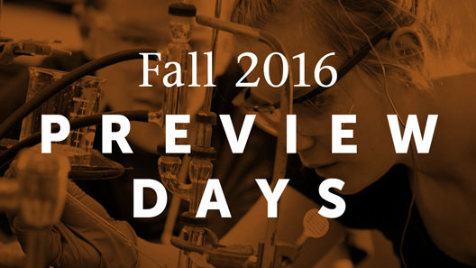 Fall Preview Days